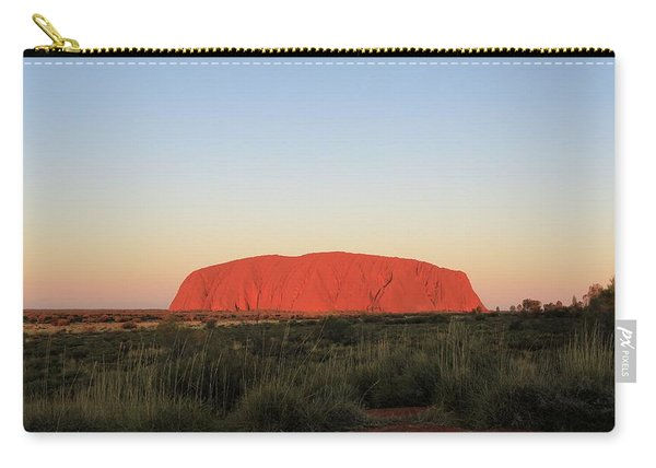Uluru At Sunset Carry-all Pouch