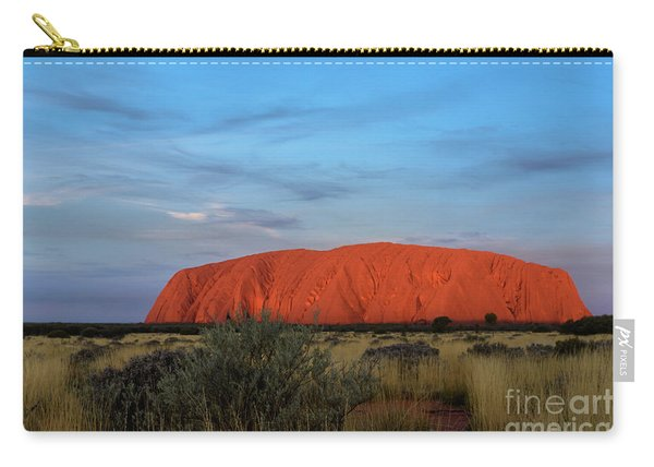 Uluru Sunset 03 Carry-all Pouch