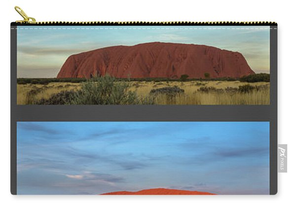 Uluru Sunset Carry-all Pouch