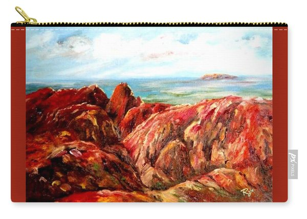 Uluru Viewed From Kata Tjuta Carry-all Pouch