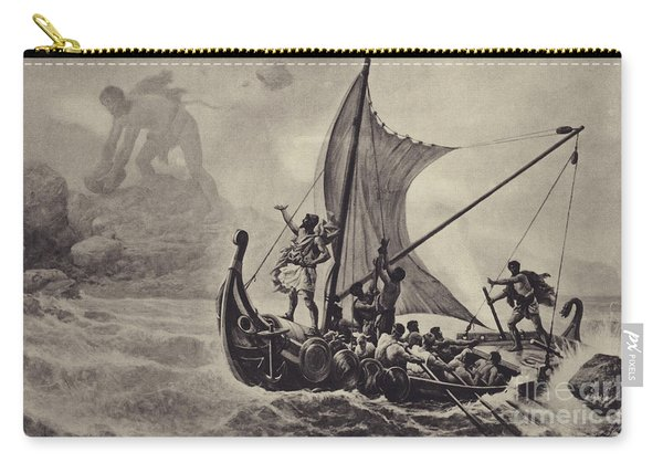 Ulysses Deriding The Cyclops Carry-all Pouch