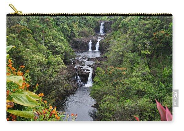 Umauma Falls Hawaii Carry-all Pouch