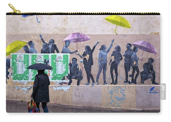 Umbrellas In Paris Carry-all Pouch