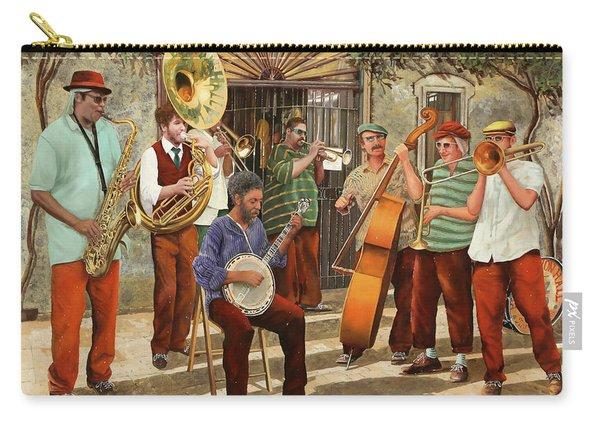 Un Po' Di Jazz Carry-all Pouch