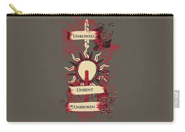 Unbowed Unbent Unbroken Carry-all Pouch