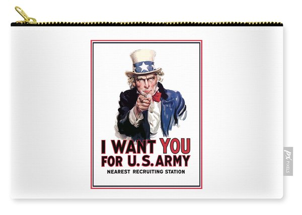 Uncle Sam -- I Want You Carry-all Pouch