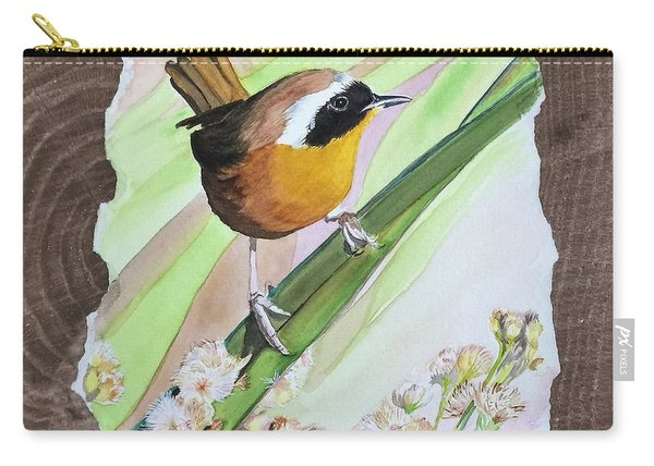 Uncommon Yellowthroat Carry-all Pouch