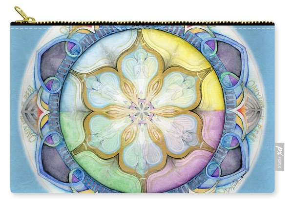 Unconditional Mandala Carry-all Pouch