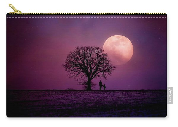Under A Full Moon Carry-all Pouch