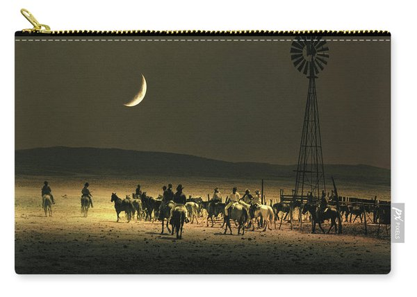 Under A Rustlers Moon Carry-all Pouch