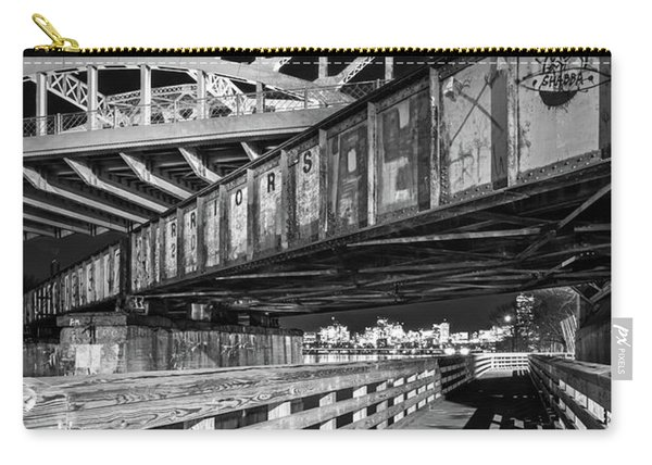 Under Boston University Bridge Carry-all Pouch