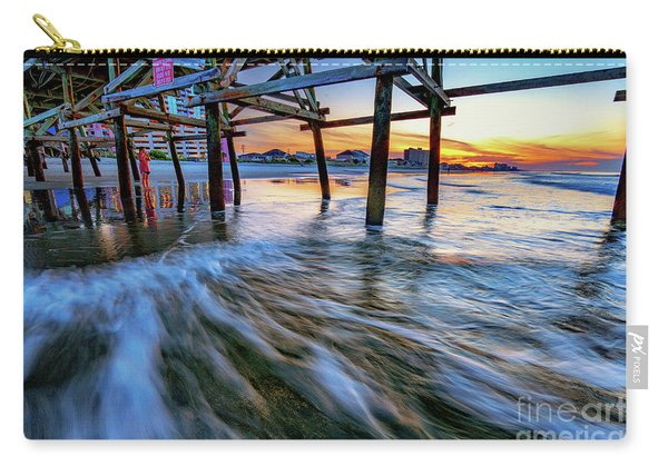 Under Cherry Grove Pier 2 Carry-all Pouch