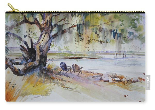 Under The Live Oak Carry-all Pouch
