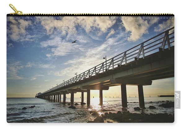 Under The Pier Carry-all Pouch