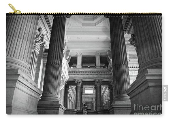 Under The Scaffolding Of The Palace Of Justice - Brussels Carry-all Pouch