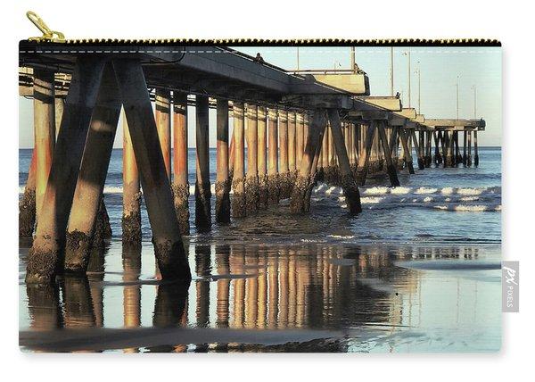 Under The Venice Beach Pier Carry-all Pouch