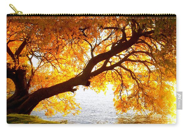 Under The Yellow Tree Carry-all Pouch