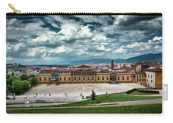 The Meridian Palace And Cityscape In Florence, Italy Carry-all Pouch