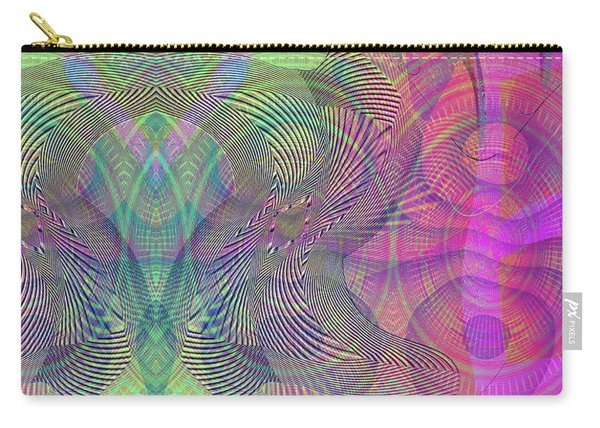 Carry-all Pouch featuring the digital art Underwater World I by Visual Artist Frank Bonilla