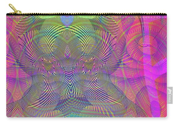 Carry-all Pouch featuring the digital art Underwater World IIi by Visual Artist Frank Bonilla