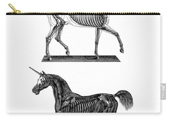 Unicorn Anatomy Carry-all Pouch