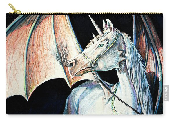 Unicorn Dragon Carry-all Pouch