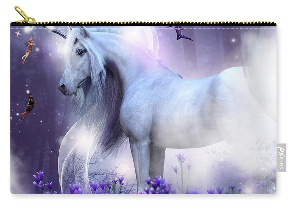 Unicorn Kisses Carry-all Pouch
