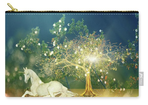 Unicorn Resting Series 2 Carry-all Pouch