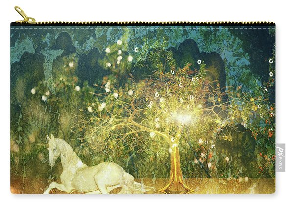 Unicorn Resting Series 3 Carry-all Pouch