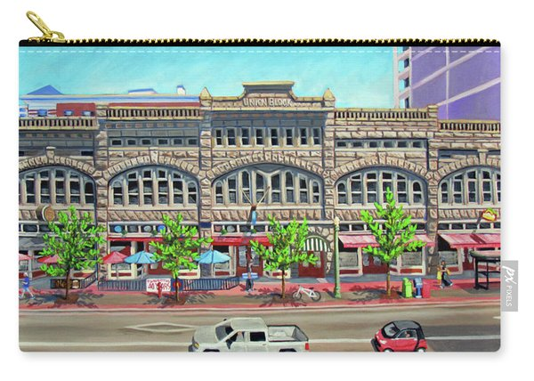 Union Block Building - Boise Carry-all Pouch