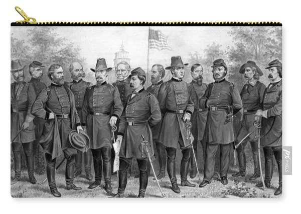 Union Generals Of The Civil War  Carry-all Pouch