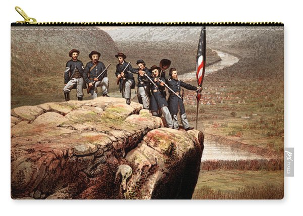 Union Soldiers On Lookout Mountain Carry-all Pouch