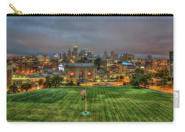 Union Station Dawn Kansas City Missouri Sunrise Art  Carry-all Pouch
