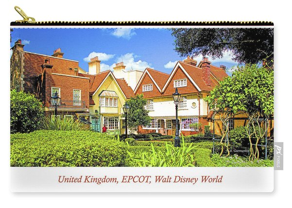 United Kingdom Buildings, Epcot, Walt Disney World Carry-all Pouch