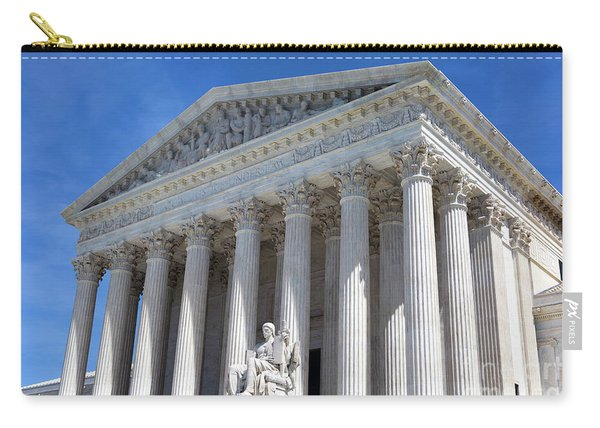 United States Supreme Court Building Carry-all Pouch