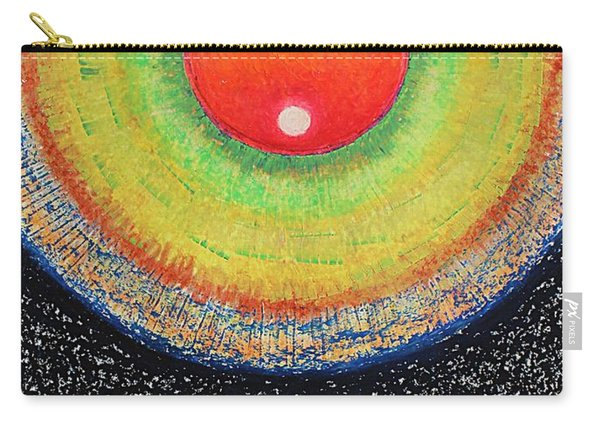 Universal Eye In Red Carry-all Pouch