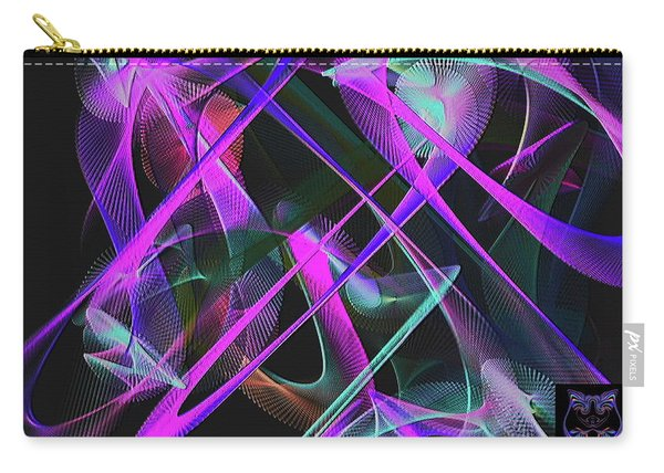 Carry-all Pouch featuring the digital art Universe by Visual Artist Frank Bonilla