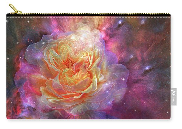 Universe Within A Rose Carry-all Pouch
