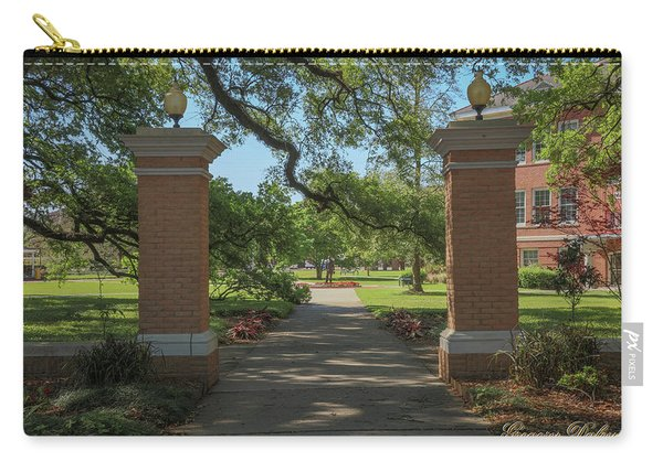 University And Johnston Entrance Carry-all Pouch