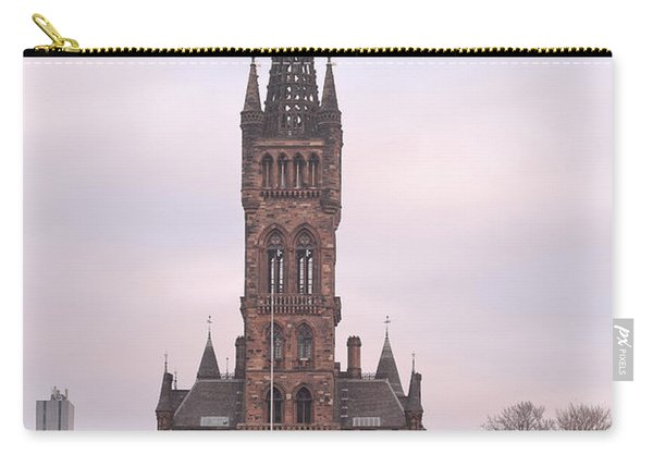 University Of Glasgow At Sunrise Carry-all Pouch