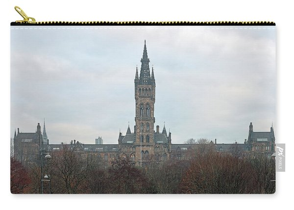 University Of Glasgow At Sunrise - Panorama Carry-all Pouch