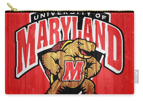 University Of Maryland Barn Door Carry-all Pouch