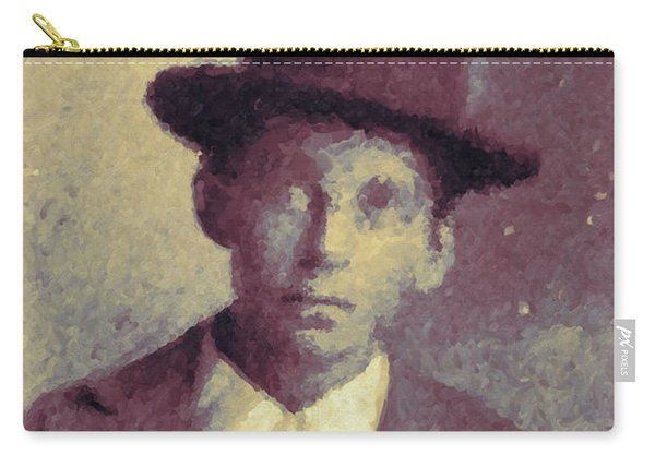 Unknown Boy In A Bowler Hat Carry-all Pouch