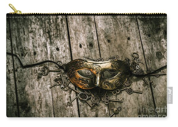 Unlocking A Golden Mystery Carry-all Pouch