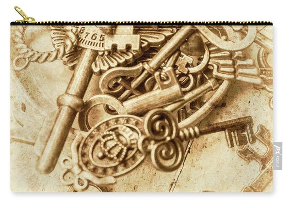 Unlocking The Past Carry-all Pouch