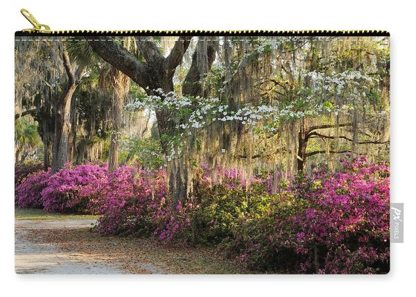 Unpaved Road In Spring Carry-all Pouch