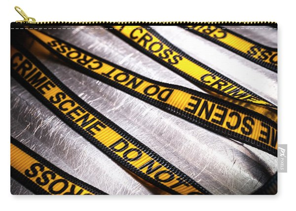 Unravelling Crime Investigation Carry-all Pouch