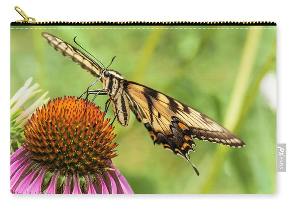 Untitled Butterfly Carry-all Pouch