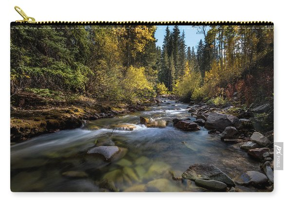 Up A Colorado Creek Carry-all Pouch