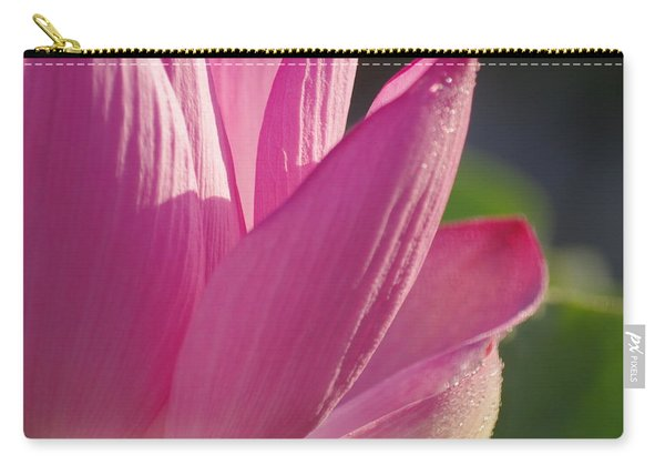 Up Close In Pink Carry-all Pouch